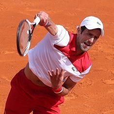 Monte Carlo Masters: Djokovic battles past Coric to set up third-round clash against Thiem
