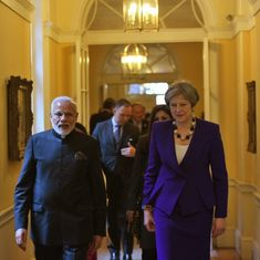 The big news: Narendra Modi and British PM Theresa May hold bilateral talks, and 9 other top stories
