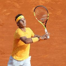 Nadal thrashes Bedene in Monte Carlo opener, to face big-hitting Khachanov in third round