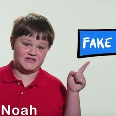 Unlike Donald Trump, this boy knows what fake news is. Watch him explain it to the US President
