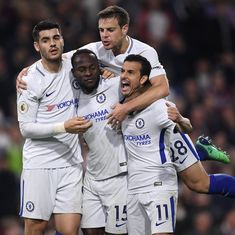 Chelsea keep slim Champions League chance alive after 2-1 win at Burnley