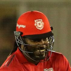 Twice unsold in IPL auction, Chris Gayle answers his doubters with season's first hundred