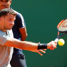 Monte Carlo Masters: Dimitrov digs deep to beat Goffin, reaches semi-finals