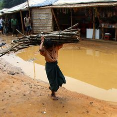 Monsoon may bring a flood of troubles for the Rohingyas in Bangladesh's refugee camps
