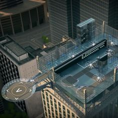Watch: These 'air taxi' stations look like the future of urban transportation as imagined in films