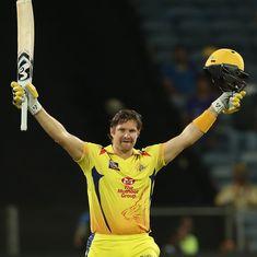 IPL 11: Watson slams century in Chennai Super Kings' commanding 64-run win over Rajasthan Royals