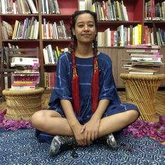 Meet Aqui Thami from Darjeeling, whose travelling library is putting the spotlight on women's books