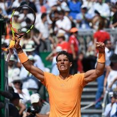 Nadal sees off Dimitrov to cruise into 12th final at Monte Carlo Masters