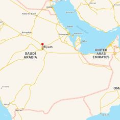 Saudi Arabian security forces shoot down toy drone near royal palace