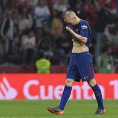 'It's a very emotional day': Copa del Rey final might be Iniesta's last for Barcelona