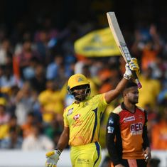 IPL 11: Rayudu's 37-ball 79 sets up Super Kings' last-ball victory against Sunrisers