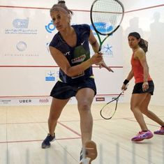 Squash: Joshna Chinappa defeats 8-time World Champ Nicol David for the first time in her career