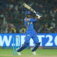 RR vs MI, as it happened: Gowtham's blitzkrieg takes Rajasthan to thrilling three-wicket win
