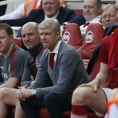 Premier League: Lukewarm response to Wenger's exit in Arsenal's 4-1 thrashing of West Ham