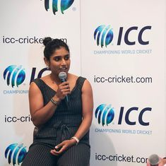 Video: Cricket talk is no longer limited to the men's game, says Indian captain Mithali Raj
