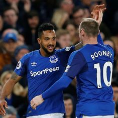 Theo Walcott's goal downs Newcastle United to boost under-fire Everton manager Sam Allardyce