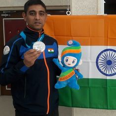 ISSF Shooting World Cup: India's Shahzar Rizvi bags silver medal in 10m Air Pistol
