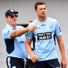 Hazlewood ruled out of England ODI series with back injury, Neser named as replacement