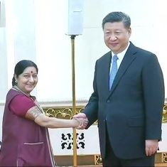 China: Sushma Swaraj calls for decisive action against nations that sponsor terrorism