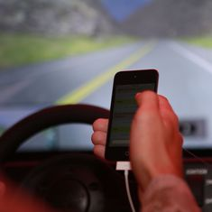 Phone use while driving slows down reaction time by up to 204%, finds IIT-Bombay study