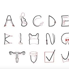 Watch: Feminism now has its own typeface, and each letter has a message of equality and empowerment