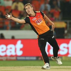 Sunrisers Hyderabad pacer Billy Stanlake ruled out of IPL 2018 due to finger injury