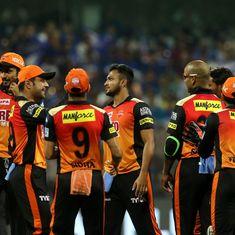 MI vs SRH, as it happened: Sunrisers pull off a heist, beat Mumbai by 31 runs after scoring 118
