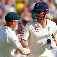 Alastair Cook reveals England suspected potential ball tampering even during Ashes
