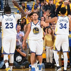 NBA playoffs: Durant's 25 powers Warriors into the semis, Philadelphia down Miami