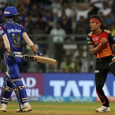 Sunrisers Hyderabad pacer Siddharth Kaul reprimanded for breaching IPL code of conduct
