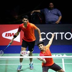 Arjun-Shlok upset world No 26 Korean pair, Srikanth stretched in round 1 of Badminton Asia C'ships