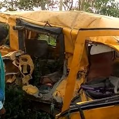 The big news: 13 children killed as bus collides with train in UP, and nine other top stories