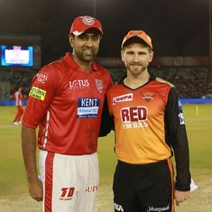 Preview: After grand heist against Mumbai, Williamson's SRH lock horns with Ashwin's KXIP