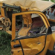 The big news: 13 children die as school van collides with train in UP, and 9 other top stories