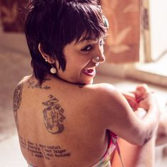 An Indian photographer is challenging the idea that 'a woman with a tattoo is a slut'