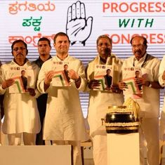 Karnataka elections: Rahul Gandhi releases Congress' manifesto, says it is 'Mann Ki Baat' of people