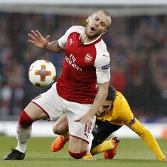 Draw not the desired result but Arsenal still in with a chance, says midfielder Jack Wilshere