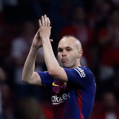 I was low, didn't feel well: Iniesta recalls battle with depression while playing for Barcelona