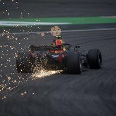 Verstappen crashes again, Bottas fastest in opening practice for Azerbaijan Grand Prix