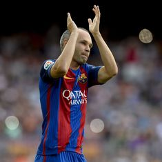 'I think he really deserved to win the Ballon d'Or': Zidane, Guardiola pay tribute to Iniesta