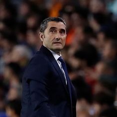 Champions League: Valverde says Messi's absence won't change Barcelona's goal to win against Inter