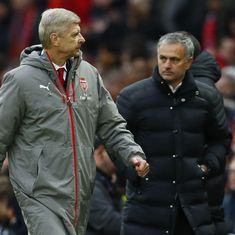 Mourinho sees himself coaching for as long as Wenger did, but not at the same club