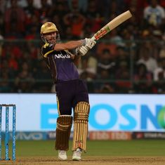 Chris Lynn powers Kolkata Knight Riders to six-wicket win over Royal Challengers Bangalore