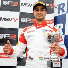 India's Kush Maini secures his first win in British F3 Championship