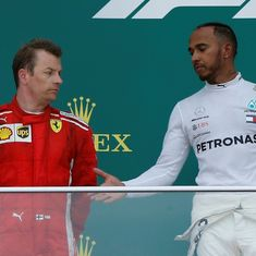 Ferrari have pure pace while Mercedes are struggling, admits Hamilton after 'lucky' win