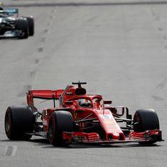 Azerbaijan GP: Lewis Hamilton accuses Sebastian Vettel of breaking safety-car restart rules