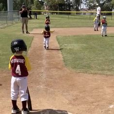 Watch: This little boy scored the most dramatic baseball home run ever, in slo-mo of course
