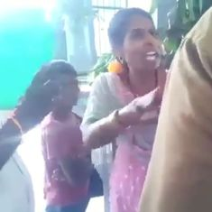 Watch: A Dalit woman was forcefully evicted from a temple near Puducherry