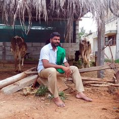In Karnataka, a candidate of Yogendra Yadav's party is contesting elections  – with Congress help