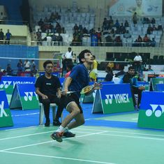 Back from a shoulder injury, Lakshya Sen gears up to face the legendary Lin Dan at New Zealand Open
